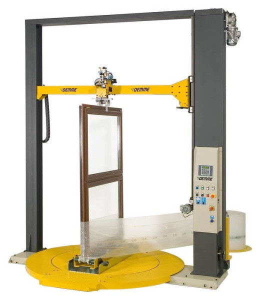 LOGO_Packaging machine for window and door frames