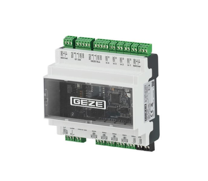 LOGO_The BACnet interface module IO 420 turns GEZE system components into a perfect network centre