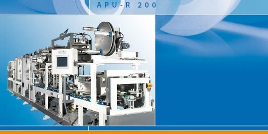 LOGO_APU-R - Automatic profile wrapping machine