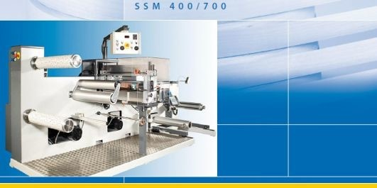LOGO_SSM 400/700 - Strip-slitting and Rewinding machine