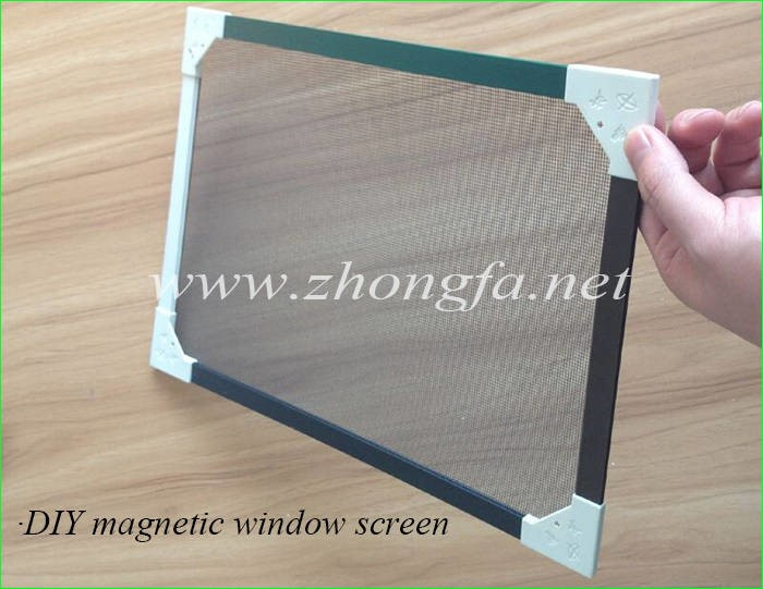 LOGO_DIY magnetic window screen for swinging-out casement windows