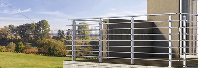 LOGO_Horizontal Aluminium Railing - SL10