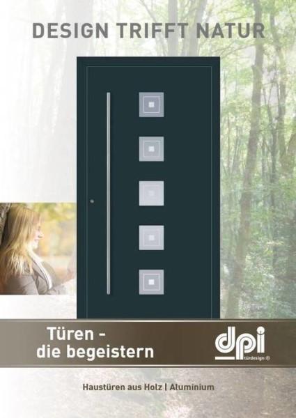 LOGO_Design trifft Natur | Ausgesuchte Füllungen für Holz-Aluminium-Haustüren