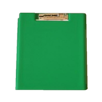 LOGO_Pyramid-Liner-Folder A4 with Clip green