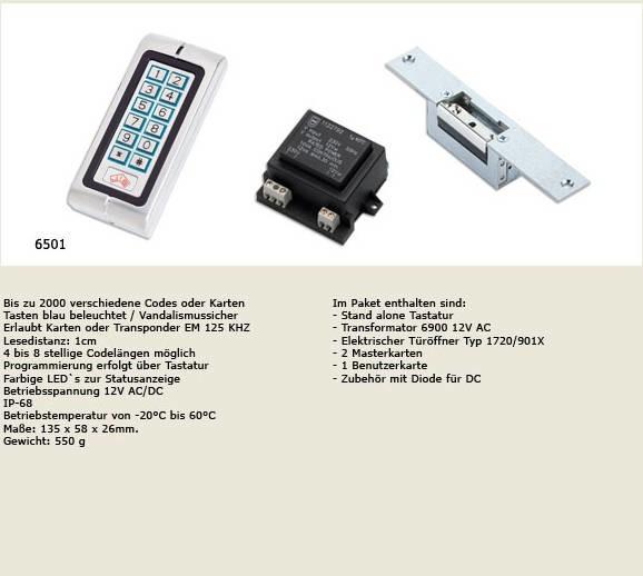LOGO_JiS - Türöffner-System mit Tastatur und Kartenlesegerät
