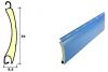 LOGO_Curved profile aluminium slat with polyurethane Slat of 39 mm.