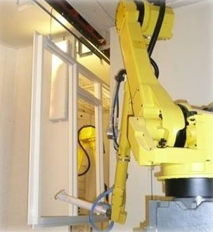 LOGO_ROWINCO 3D – Fully automated robot painting installation with automatic program generation for the timber industry