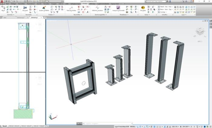 LOGO_ATHENA – the leading CAD software for metal construction and facade technology
