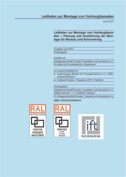 LOGO_Leitfaden zur Montage von Vorhangfassaden – Planung und Ausführung der Montage für Neubau und Renovierung