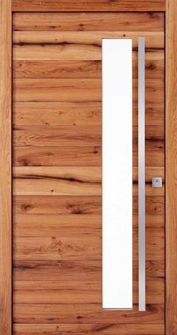 LOGO_Design-Haustüren DuoLine mit Naturholzoberflächen