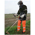 LOGO_Spritzschutz für Freischneidarbeiten oder Hochdruckreiniger