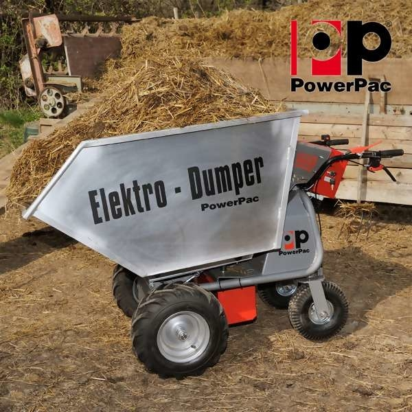 LOGO_Electric Wheelbarrow Multi-Dumper elektro Type MCE400