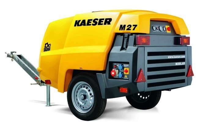 LOGO_Mobilair M 27 portable compressor with PE enclosure and generator