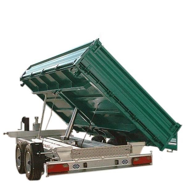 LOGO_Dreiseiten-Kipper, Alu-Rampen eingeschoben, DK 69 AR