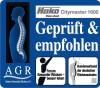 LOGO_Citymaster 1600 mit AGR-Gütesiegel ausgezeichnet