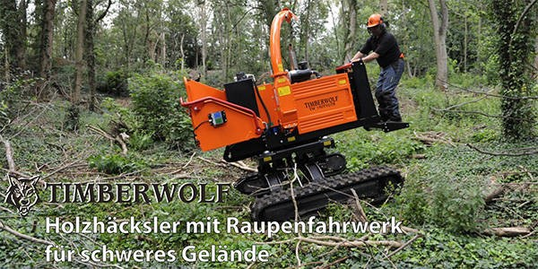 LOGO_Timberwolf Häcksler und Schredder: Holzhäcksler und Schredder