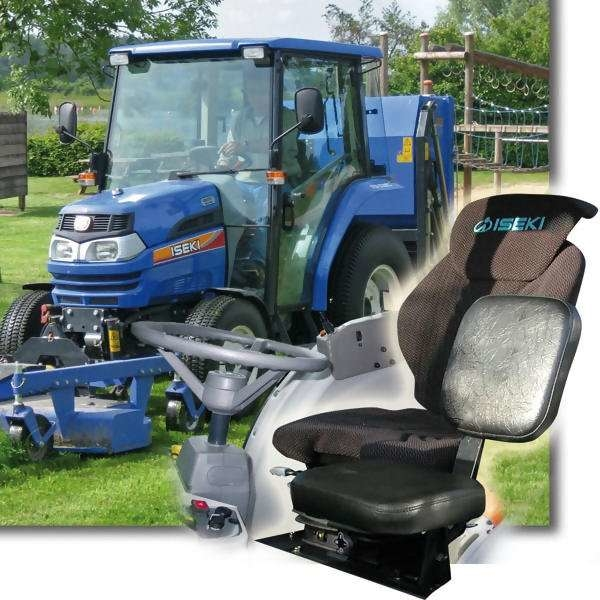 LOGO_Kommunaltraktor TG 5000 now with second small seat!