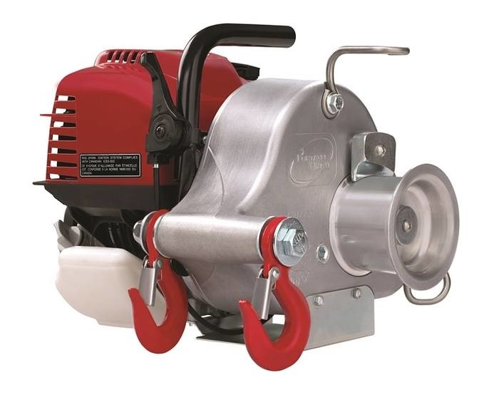 LOGO_PCW3000 - Gas-powered portable capstan winch