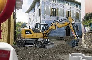 LOGO_Wheeled Excavator A 910 Compact Litronic