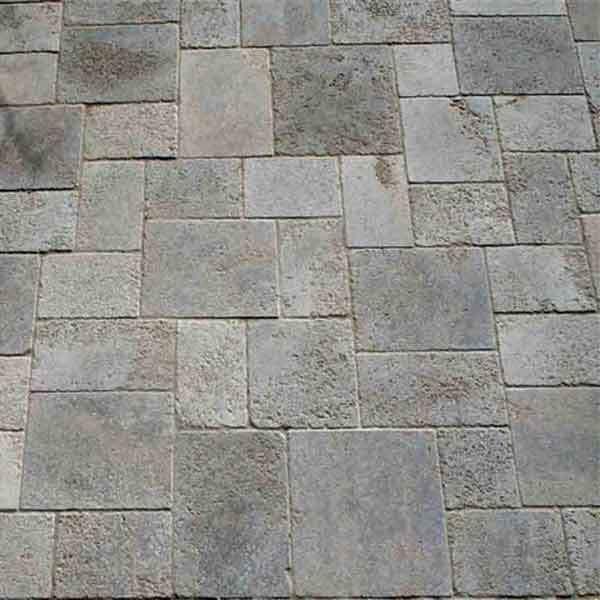 LOGO_Muschelkalk Boden, im römischen Verband antike Oberfäche