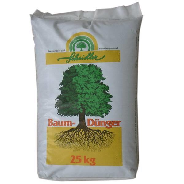 LOGO_Dünger organisch - mineralisch, Scheidler Baumdünger 8+2+9+1