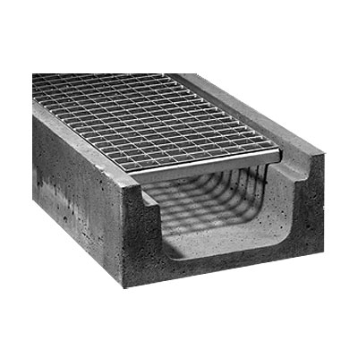 LOGO_Drainage gutter with grating