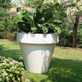 LOGO_Kunststoff-Pflanzgefäß in italienischem Design