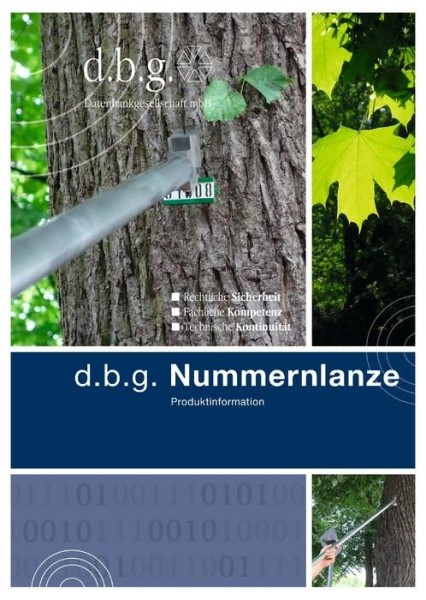 LOGO_d.b.g. BAUM-KLICK® und d.b.g. Nummernlanze