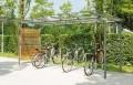 LOGO_Fahrradüberdachung bwa® bausystem GLASDACH