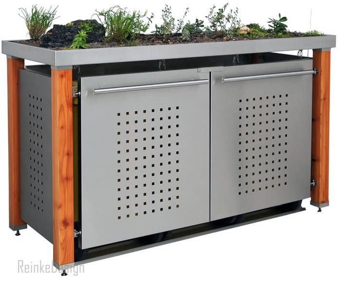 LOGO_Mülltonnenboxen und Mülltonnenverkleidungen aus Edelstahl