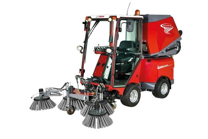 LOGO_Urban sweeper and tool carrier Timan 3400