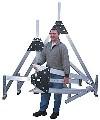 LOGO_Quick-mounting Aluminium gantry crane