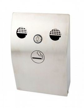 LOGO_CIGARETTE BIN, WALL-MOUNTED, NR. 100451