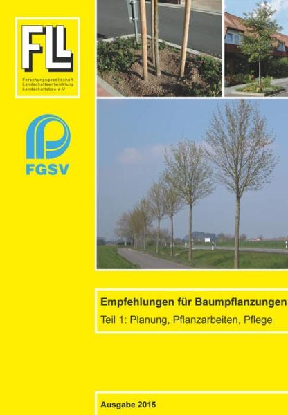 LOGO_Empfehlungen für Baumpflanzungen, Teil 1: Planung, Pflanzarbeiten, Pflege