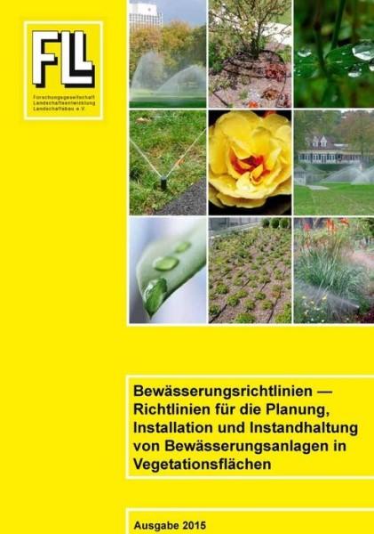 LOGO_Bewässerungsrichtlinien - Richtlinien für die Planung, Installation und Instandhaltung von Bewässerungsanlagen in Vegetationsflächen