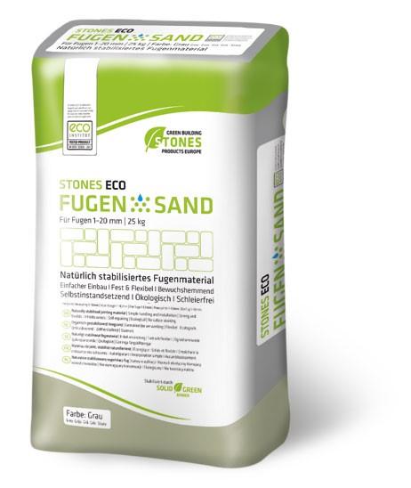LOGO_STONES ECO FUGENSAND  1-20 mm / 25 kg Papiersack