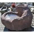 LOGO_2-Becken-Brunnen aus Grödner Porphyr, Nr.1041