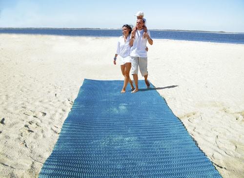 LOGO_TERRAM PathMat™ Sandmatte
