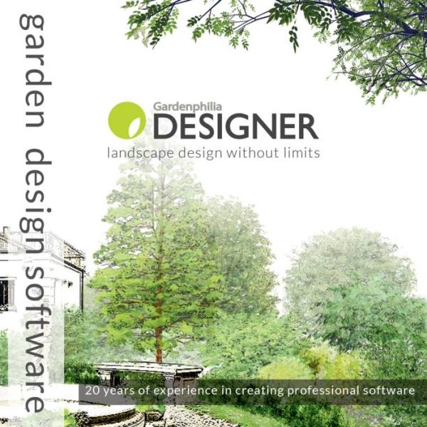 LOGO_Der Gardenphilia DESIGNER - die brandneue und besonders benutzerfreundliche GaLaBau Software
