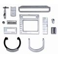 LOGO_Veredelte Zinkdruckgussteile für Design- und Oberflächenteile