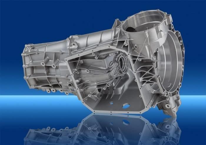 LOGO_Getriebe- und Zwischengehäuse für Doppelkupplungsgetriebe
