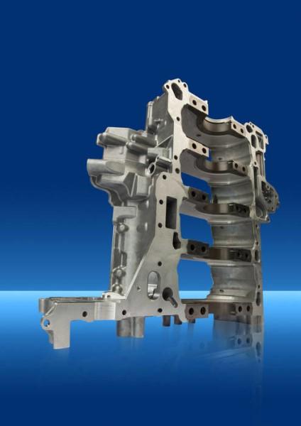LOGO_Lagertraverse V8-Motor mit GGG-Eingussteilen