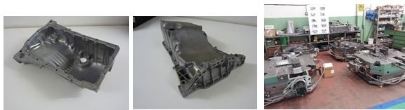 LOGO_DIE CASTING DIES FOR: OIL PAN