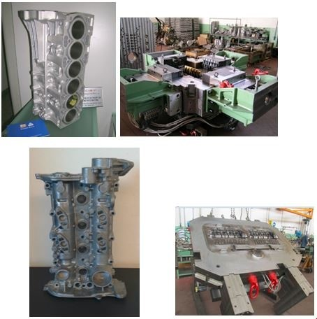 LOGO_DIE CASTING DIES FOR: CYLINDER BLOCKS AND CYLINDER COVER