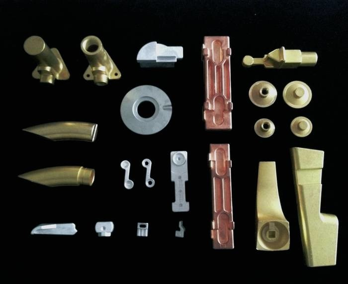 LOGO_Warmgepresste Teile aus Messing, Kupfer, Aluminium