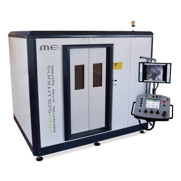 LOGO_Industrial radioscopic equipment 'ME 225 cnc' for X-ray quality inspection
