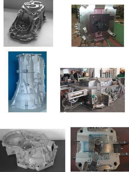 LOGO_DIE CASTING DIES FOR: GEARBOXES, AUTOMATIC TRANSMISSION CASES AND CLUTCH HOUSINGS