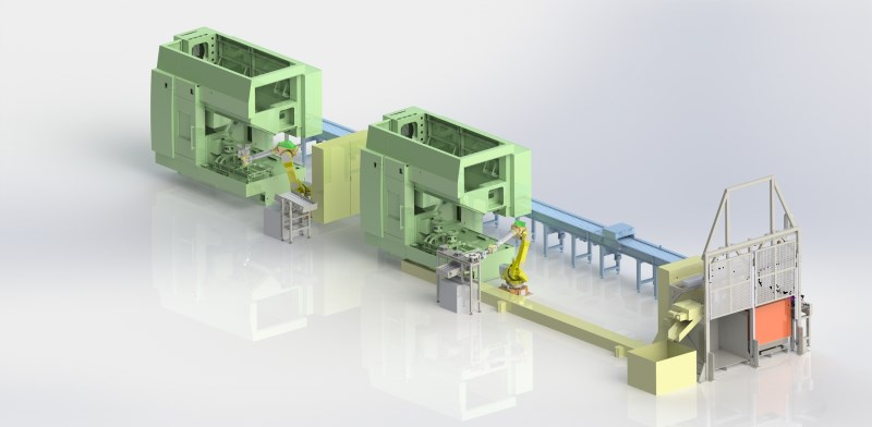 LOGO_Automatic machinery line for brake disc