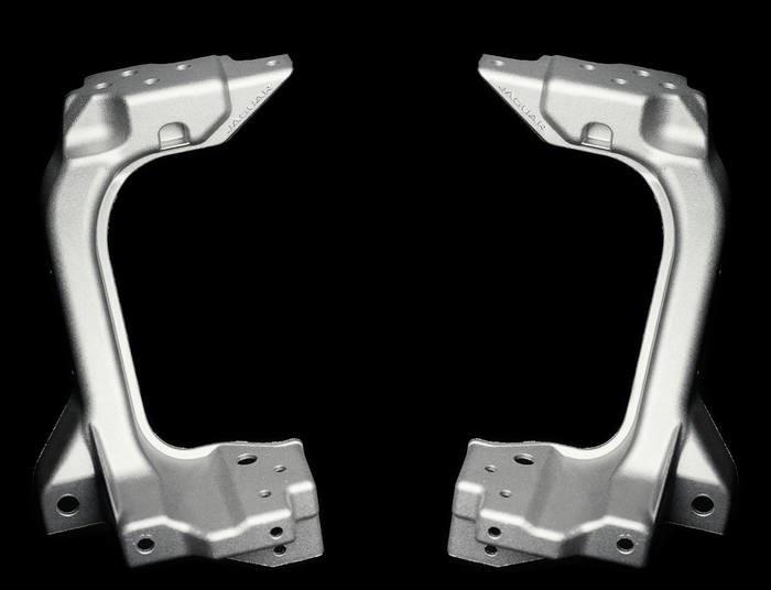 LOGO_Struktur-Gussteil für Automobil