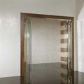 LOGO_Zweiflügeliges Faltsystem Ganzglas